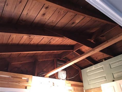 converted garage exposed rafters insulation question insulation diy chatroom home