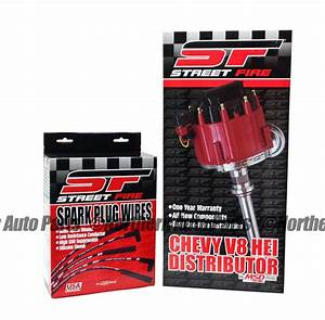 Msd Streetfire Small Block Chevy Distributor W   Wire Set