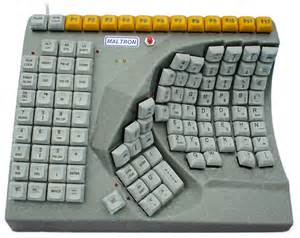 design tastaturen kbc 600r maltron ergonomic single right handed keyboard data sheet