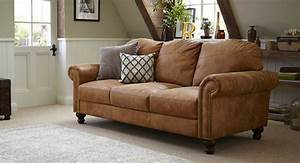 Tan leather sofa #DFS Home Is where my heart is