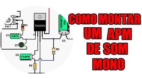 mini amplificador  tda  youtube