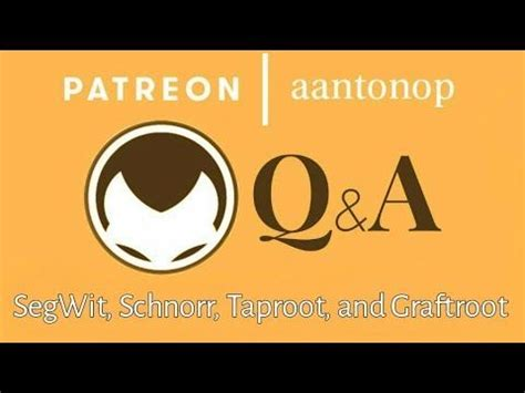 Florida is among the places that are lucky to get these machines. Bitcoin Q&A: SegWit, Schnorr, Taproot, and Graftroot ⋆ MICHAELANTONIO MEDIA | Blockchain ...