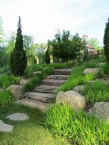 Garten Landschaft : sch ne landschaft im garten kieselsteine und flusssteine einbauen ~ Buech-reservation.com Haus und Dekorationen