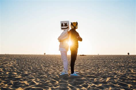 Marshmello And Evan Fong Hd Music 4k Wallpapers Images Backgrounds Photos And Pictures