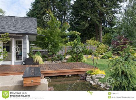 deck   stream stock photo image