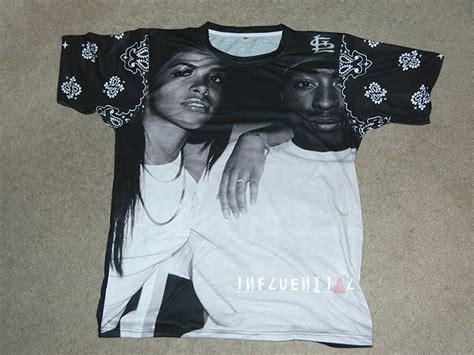 Aaliyah And Tupac Shirt