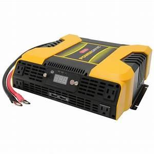Powerdrive 3000 Watt Power Inverter  4 Ac  2 Usb App With