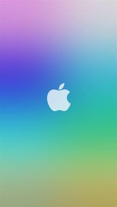 apple itunes gift card rainbow apple logo ios7 lockscreen iphone 5 wallpaper hd