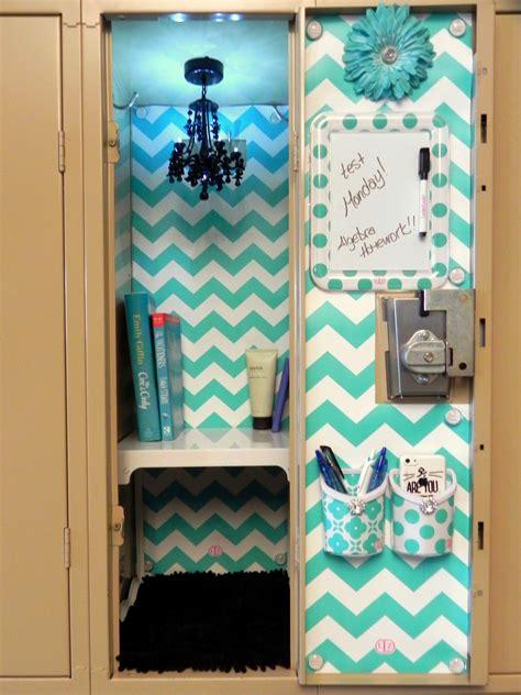 Image Of Blue Diy Locker Decorations Middle School