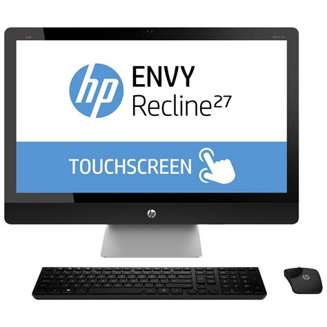 pc bureau intel i5 hp envy recline 27 k470nf pc de bureau hp sur ldlc com