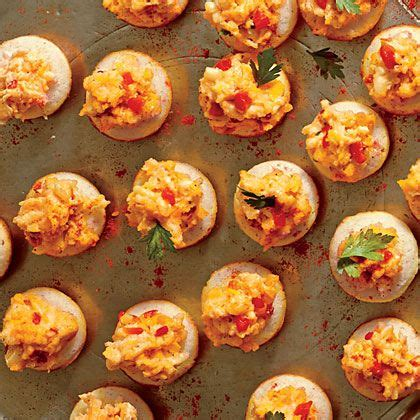 freeze ahead canapes recipes cornmeal with ricotta pimiento cheese recipe the