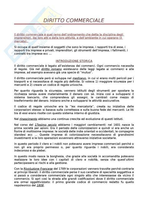 Dispensa Diritto Commerciale by Cos 232 Il Diritto Commerciale
