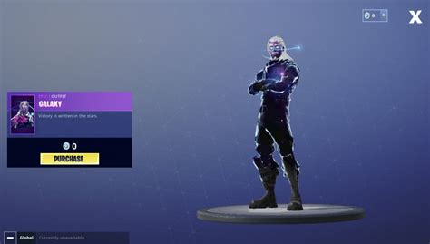 upcoming galaxy skin   included   starter pack