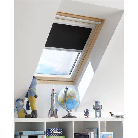 le inspire leroy merlin store occultant inspire noir pour fen 234 tre de toit de 78 x 98cm leroy merlin