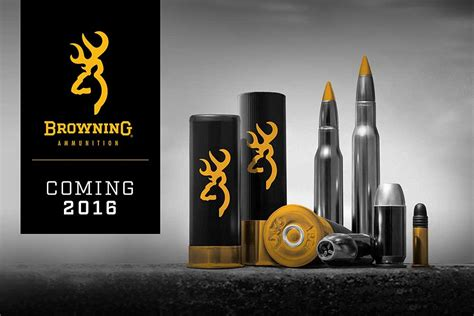 Coming Soon: Browning Ammunition - Guns & Ammo