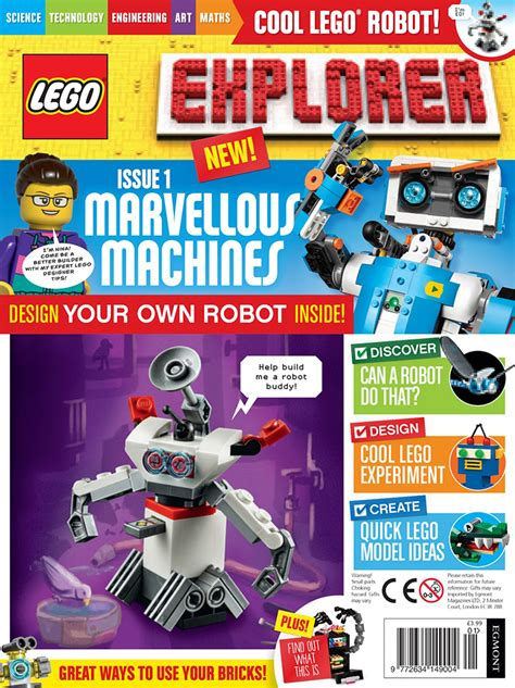 LEGO Explorer magazine offers UK subscriptions