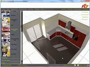 cuisine 3d en ligne sans telechargement With faire son plan de cuisine en 3d gratuit
