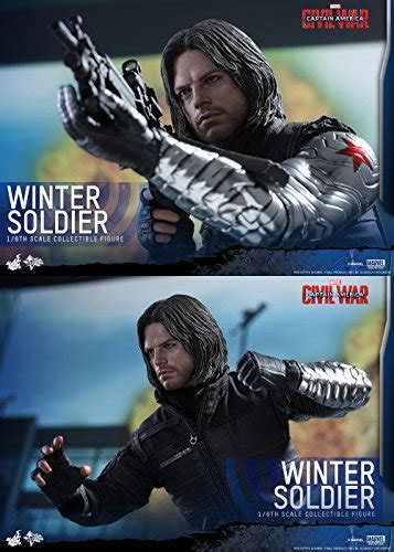 Hot Toys 1/6 MMS351 Civil War Captain America Bucky Barnes