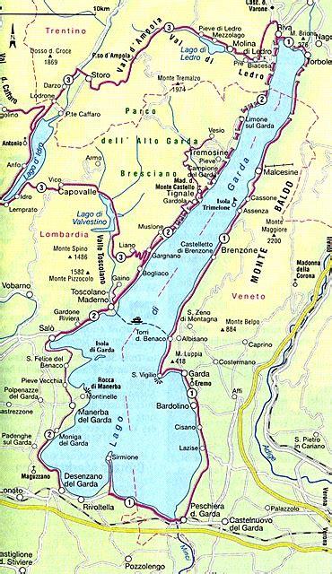 italien landkarte gardasee  blog