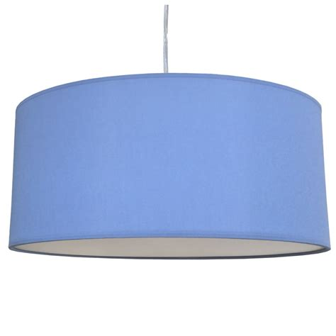 blue drum l shade extra large flush 5 of 6 imperial lighting