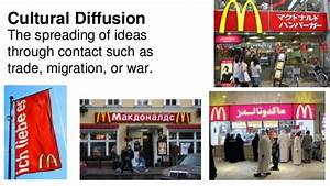 What is culture... Cultural Diffusion
