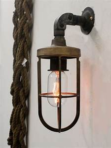 Industrial Conduit Wall Light