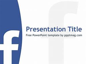 Free facebook powerpoint template pptmag for Facebook powerpoint presentation template