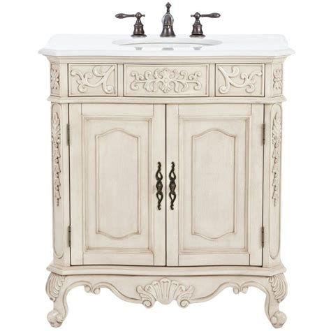 white bathroom vanity home depot home decorators collection winslow 33 in w bath vanity in