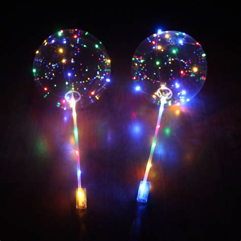 Led Lichter Einzeln by 18 Led Light Balloons Clear Balloon Wedding Birthday
