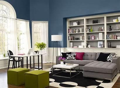 Living Scheme Colors Modern Paint Space Interior