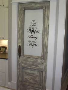 rustic brown frosted glass pantry door in gray of With custom made pantry doors