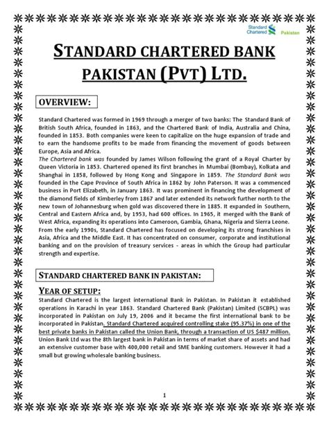 Standard Chartered Bank Pakistan | Mutual Funds | Banks