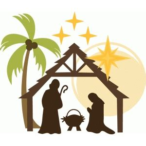 words using letters silhouette design view design 52395 nativity 52395