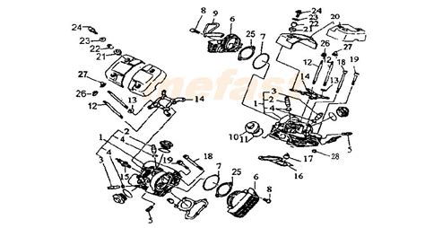 250 Motorcycle Engine Diagram by Lifan 250 V 250cc Parts Cylinder Mefast Owners