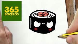 Disegni Kawaii Sushi Come Disegnare Disegni Sushi Kawaii
