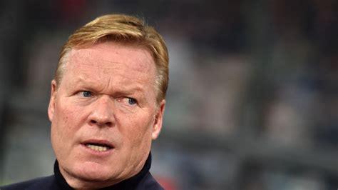 Nīderlandes galvenais treneris Kūmans sirds problēmu dēļ ...