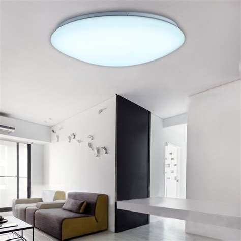 24w Round Led Ceiling Down Light Flush Mounted Bathroom