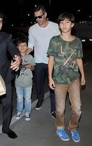 Mason Cibrian Pictures LeAnn Rimes and Family at LAX
