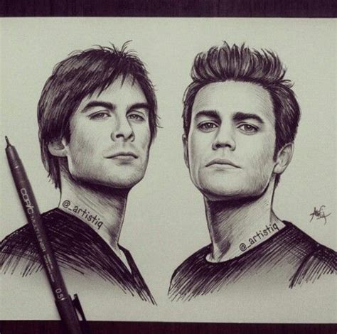 Did you scroll all this way to get facts about damon salvatore? 121 best images about Stuff to draw on Pinterest ...