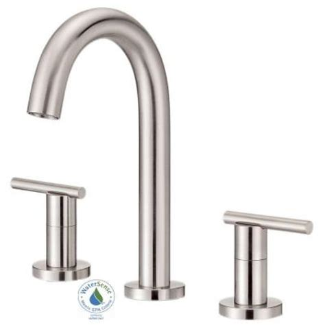 danze parma 8 in widespread 2 handle high arc trim line