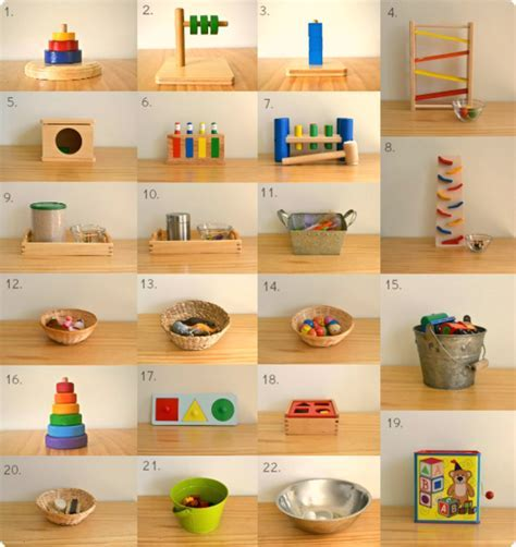 Toys, materials, shelves and rotation at 17 months   how
