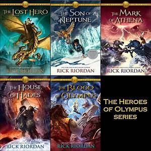 The Heroes Of Olympus Series Book 1 The Lost Hero Book 2