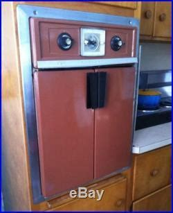 Mid Century Modern French Door Wall Oven Vintage Retro