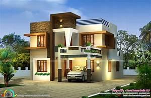 Contemporary east facing house plan