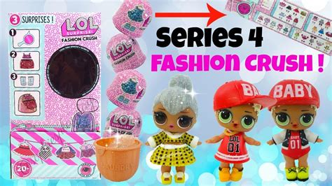 lol surprise fashion crush eye spy series  unboxing gold