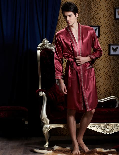 robe de chambre personnalis馥 robe de chambre homme satin grande taille