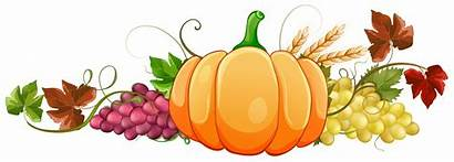 Pumpkin Fall Clipart Autumn Decor Border Clip