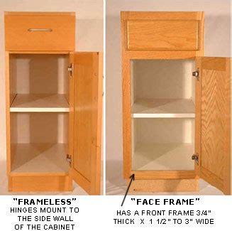 face frame cabinets vs frameless knowledgebase
