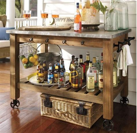 how to build a buffet table build a potting bench or garden buffet table pottery barn