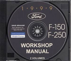 1999 Ford F150 F250 Shop Manual Set Cd F